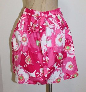 Lilly Pulitzer Swiss Dot Summer Mini Skirt PINK