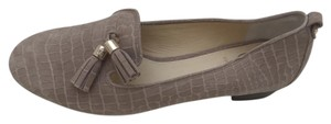 Vero Cuoio Tassels Alligator Taupe Tan Loafer Tan/Taupe Flats