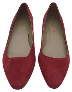 Talbots Pointed Toe New Red Flats