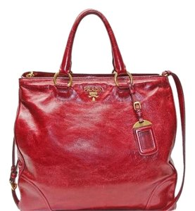 Prada Tote in Red