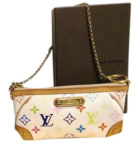 Louis Vuitton Milla Chain Monogram multi Clutch