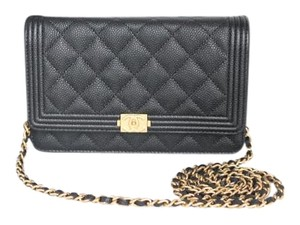 Chanel Woc Caviar Cross Body Bag
