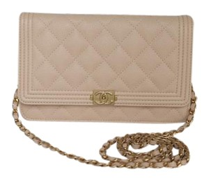 Chanel Woc Caviar Gold Hardware Cross Body Bag