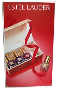 Este Lauder NEW IN BOX ESTEE LAUDER PURE COLOR NAIL LACQUER/ NAIL POLISH 4 SHADES