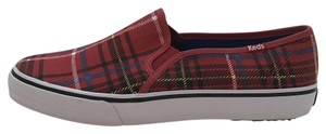 Keds Plaid Blue Yellow Red Flats