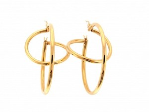 Other MUST HAVE - 14k Gold large hoop earrings