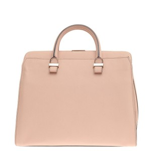 Victoria Beckham Leather Tote in Light Pink