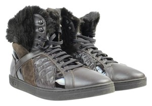 Louis Vuitton Tower Mink Fur Boot Hiking Athletic
