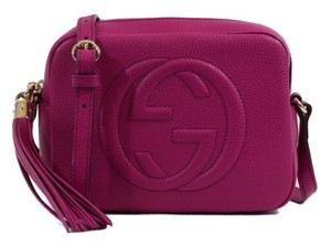 Gucci 308364 Soho Leather Cross Body Bag