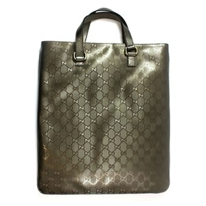 Gucci Handbag Gg Tote in Bronze Metallic