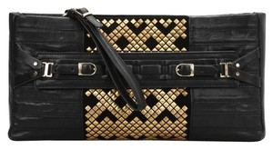 Herv Leger Black Clutch