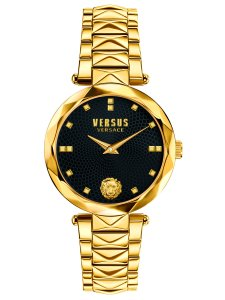 Versace Versus Versace SCD12 0016 Gold Black Watch 34mm