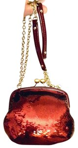 Coach Kisslock Sequins Chain Shoulder Bag