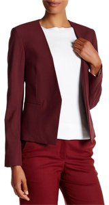 Theory Delaven Work Red Blazer