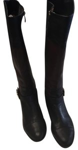 Vince Camuto Maroon/Black Boots