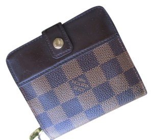 Louis Vuitton Louis Vuitton Wallet Damier Ebene Zip