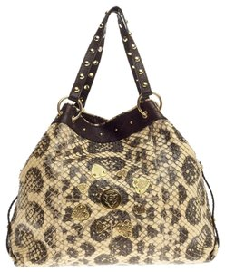 Gucci Python Tote in Yellow