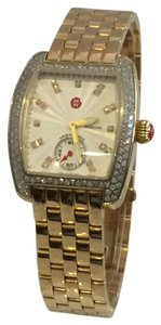 Michele Urban Mini Women's 135 Diamonds Two-Tone Watch MW02A01D1942