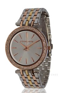Michael Kors BRAND NEW WOMENS MICHAEL KORS (MK3203) DARCI TRI TONE MESH WATCH