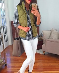 J.Crew Quilted Fall Winter Vest