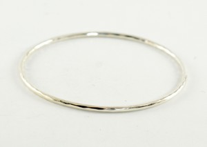 Ippolita Ippolita Sterling Silver Plain Bangle Bracelet