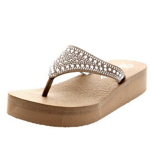 Skechers taupe Sandals