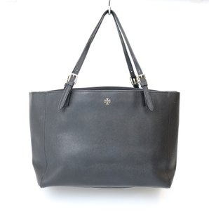 Tory Burch Tb Gold Hardware Tote in Black