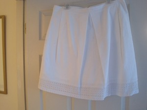 Anne Klein Skirt WHITE