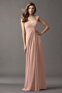 Watters & Watters Bridal Peach Watters Mahogany Dress