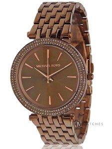 Michael Kors BRAND NEW WOMENS MICHAEL KORS (MK3416) DARCI SABLE ION PLATED WATCH