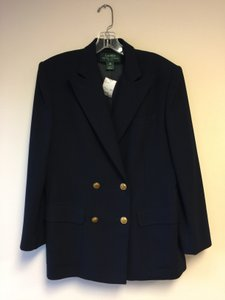 Ralph Lauren Navy & Gold Double Breasted Jacket