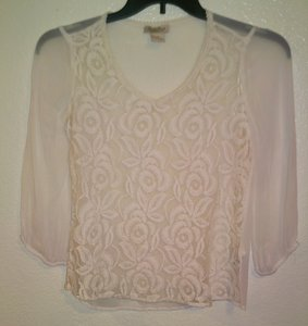 Lucky Brand Top Beige