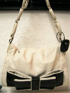 Chloé Chloe Leather Bow Shoulder Bag