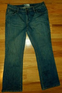 Levi's Like New Denim Low Rise Boot Cut Jeans-Medium Wash
