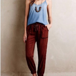 Anthropologie Relaxed Pants Rust