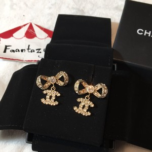Chanel Cc Bow Dangling