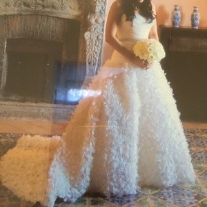 CHRISTOS F Wedding Dress