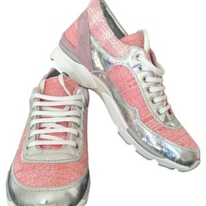 Chanel Pink/silver Athletic