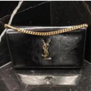 Saint Laurent NWT YSL wallet on chain