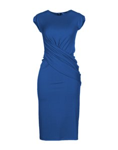 Michael Kors Collection Fitted Crepe Classic Dress