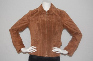 Adler Collection Brown Leather Jacket