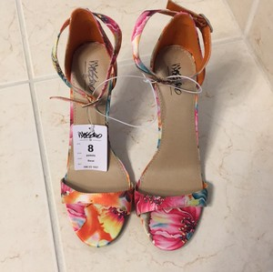 Mossimo Supply Co. Floral Sandals