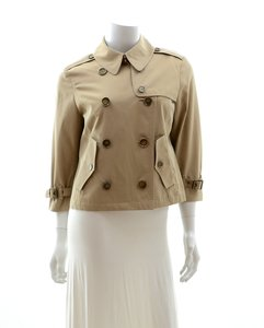 Burberry London Cropped Trench Trench Coat