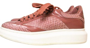 Alexander McQueen Leather Mauve Athletic