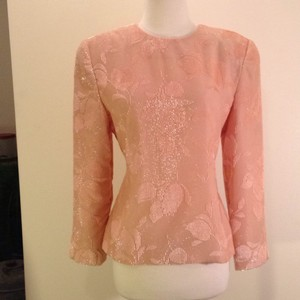 Adele Simpsom Top Peach