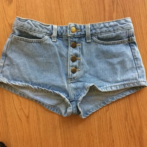 American Apparel Mini/Short Shorts Light blue