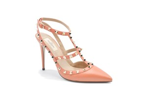 Valentino Coral Peach Pumps