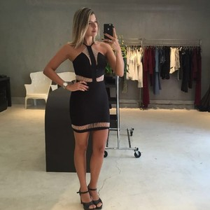Strend short dress Black on Tradesy