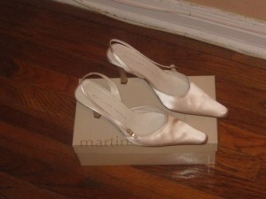 Martinez Valero Bridal Satin Formal Shoe Wedding Shoes