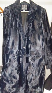 INC International Concepts Faux Fur Fur Coat